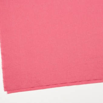 リネン&コットン×無地(コーラルピンク)×シーチング_全31色 サムネイル2