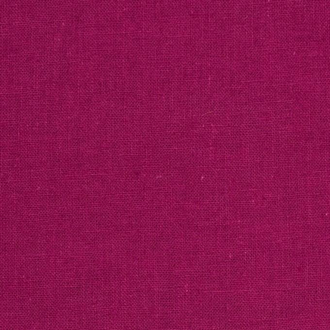リネン&コットン×無地(チェリーピンク)×シーチング_全36色 イメージ1