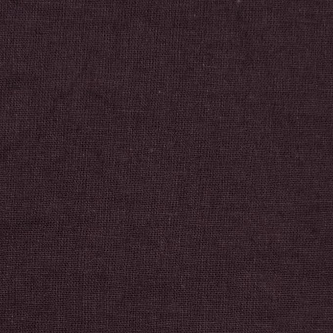 リネン&コットン×無地(プルーン)×シーチング_全36色 イメージ1