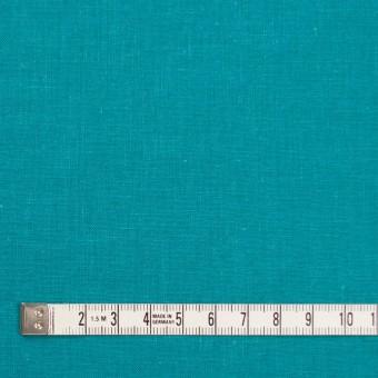 リネン&コットン×無地(アクアブルー)×シーチング_全36色 サムネイル4