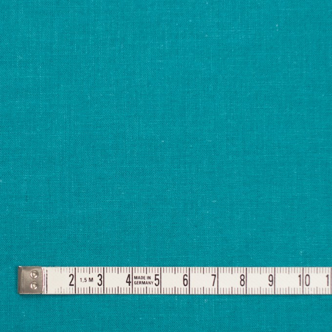 リネン&コットン×無地(アクアブルー)×シーチング_全36色 イメージ4