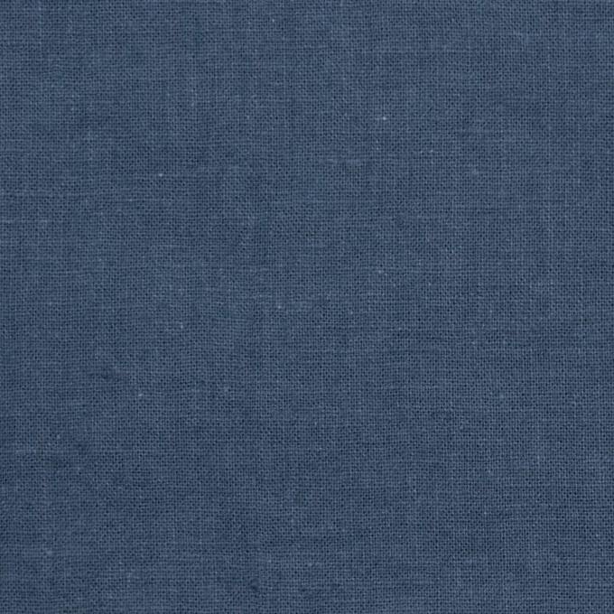 リネン&コットン×無地(ウィンターブルー)×シーチング_全36色 イメージ1