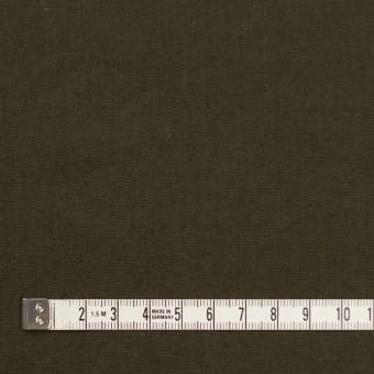 リネン&コットン×無地(カーキグリーン)×シーチング_全36色 サムネイル4