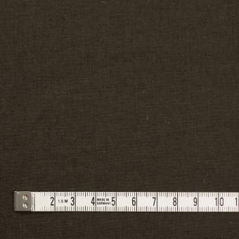 リネン&コットン×無地(カーキブラウン)×シーチング_全36色 サムネイル4