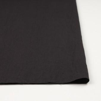 リネン&コットン×無地(ライトブラック)×シーチング_全36色 サムネイル3
