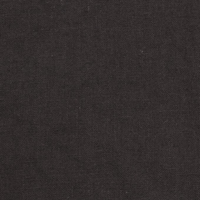 リネン&コットン×無地(ライトブラック)×シーチング_全36色 イメージ1