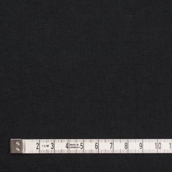 リネン&コットン×無地(ブラック)×シーチング_全36色 サムネイル4