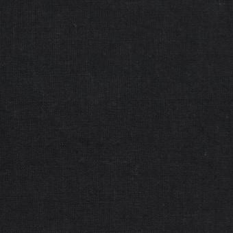 リネン&コットン×無地(ブラック)×シーチング_全23色 サムネイル1