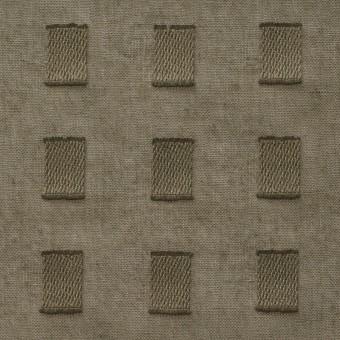 コットン×スクエア(カーキグリーン)×ボイルジャガード_全6色