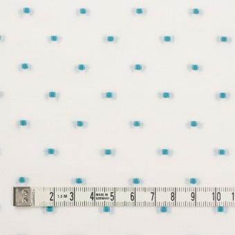 コットン×ドット(ターコイズ)×ボイルジャガード サムネイル4