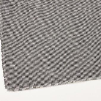 コットン&ポリウレタン×チェック(グレー&ブラック)×ボイルシャーリング_全3色 サムネイル2