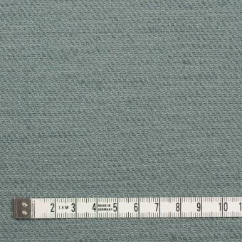 コットン&ジュート×無地(スレートグリーン)×厚サージ_全3色 サムネイル4