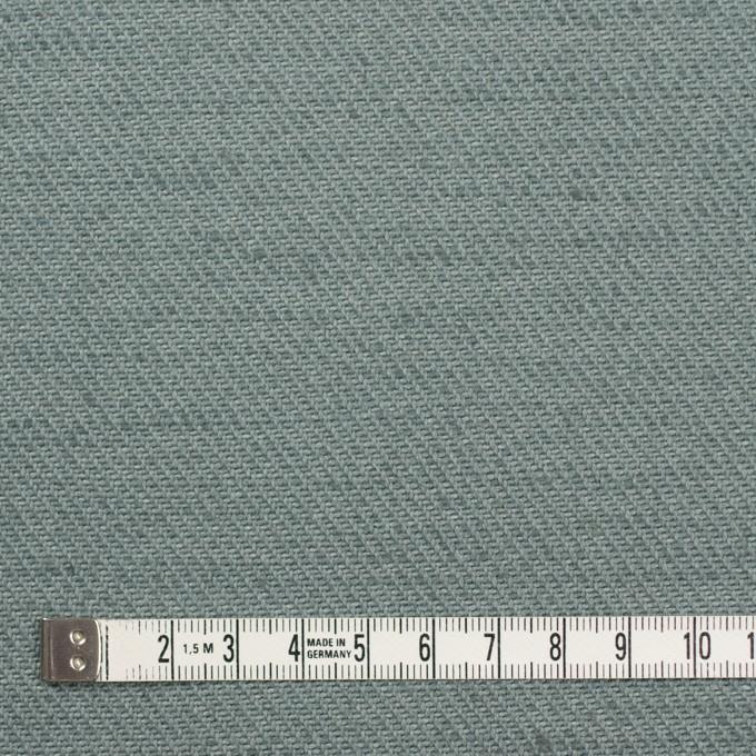 コットン&ジュート×無地(スレートグリーン)×厚サージ_全3色 イメージ4