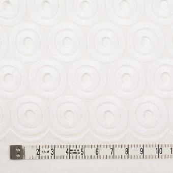 コットン×サークル(ホワイト)×ボイル刺繍 サムネイル4
