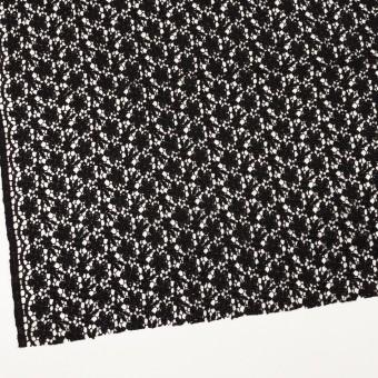 レーヨン×フラワー(ブラック)×ケミカルレース サムネイル2