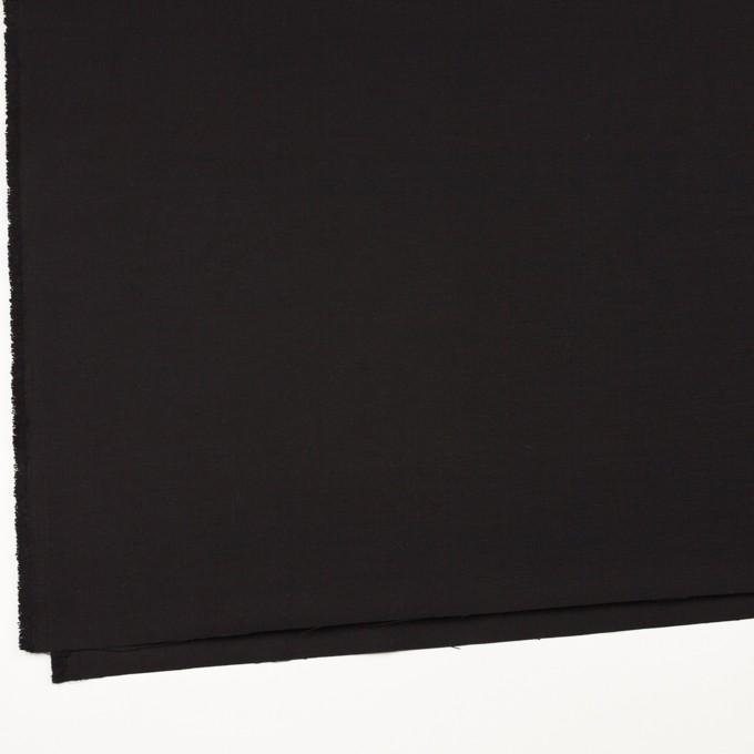 コットン×無地(ブラック)×厚オックスフォード_全3色 イメージ2