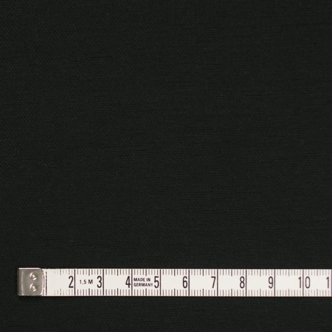 コットン×無地(ブラック)×厚オックスフォード_全3色 イメージ4