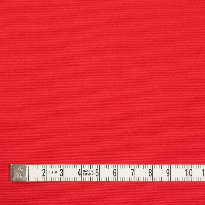 コットン×無地(パッションレッド)×ポプリン_全3色 イメージ4
