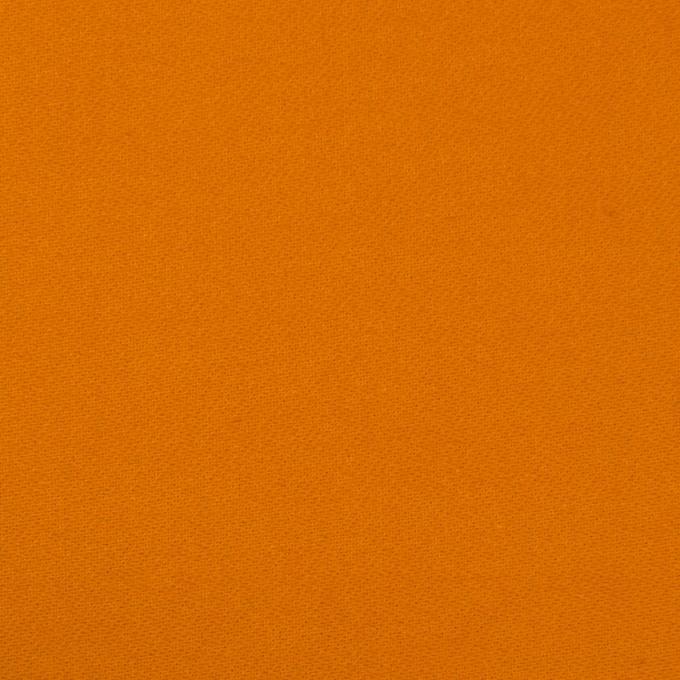 コットン×無地(オレンジ)×モールスキン_全6色 イメージ1