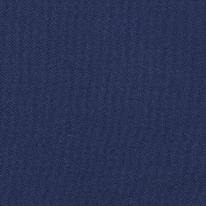 コットン×無地(マリンブルー)×モールスキン_全6色 イメージ1