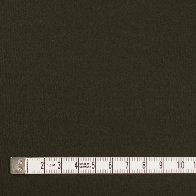 コットン×無地(ダークカーキグリーン)×モールスキン_全6色 イメージ4