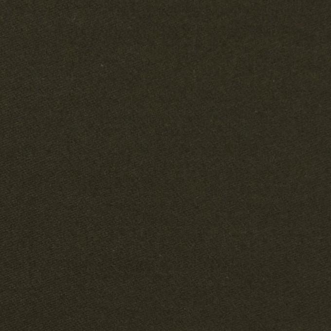 コットン×無地(ダークカーキグリーン)×モールスキン_全6色 イメージ1