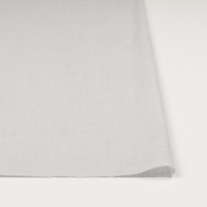 コットン&リネン×ストライプ(ライトグレー)×ボイル_全2色 イメージ3