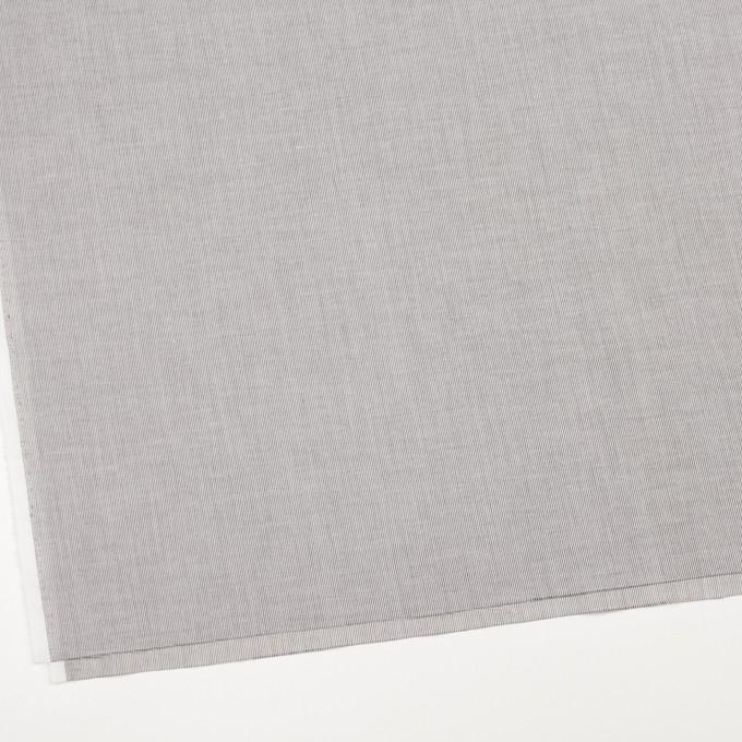 コットン&リネン×ストライプ(チャコール)×ボイル_全2色 イメージ2