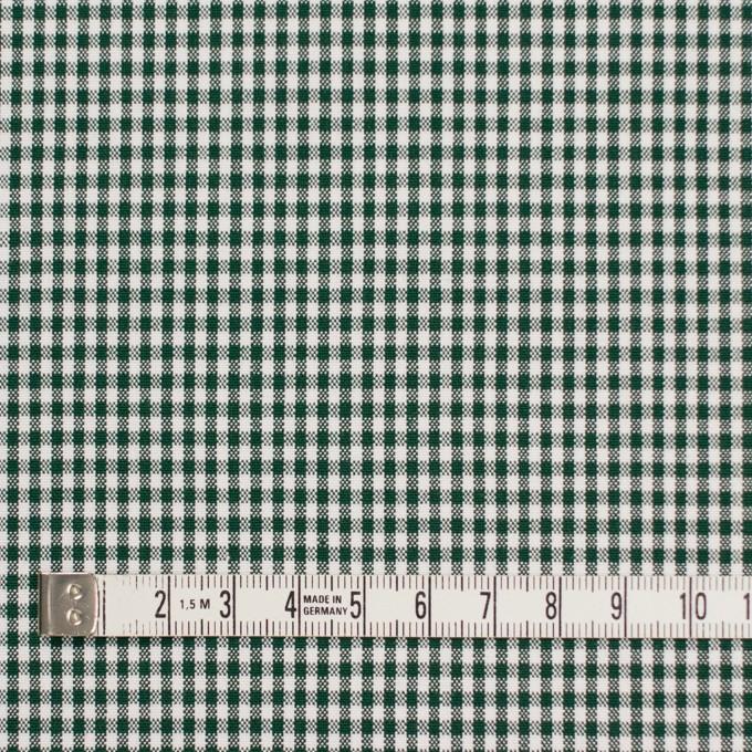 コットン&ポリウレタン×チェック(グリーン)×ポプリンストレッチ_全3色 イメージ4