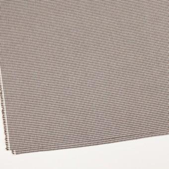 コットン&ポリウレタン×チェック(ブラウン)×ポプリンストレッチ_全3色 サムネイル2