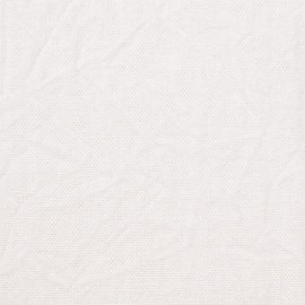 コットン&リネン×無地(ホワイト)×キャンバスワッシャー_全15色