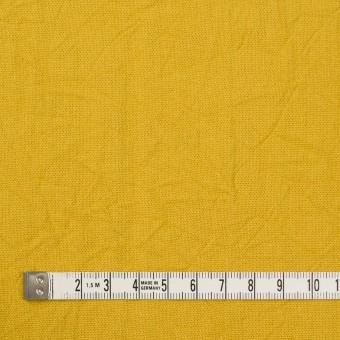 コットン&リネン×無地(マスタード)×キャンバスワッシャー_全15色 サムネイル4