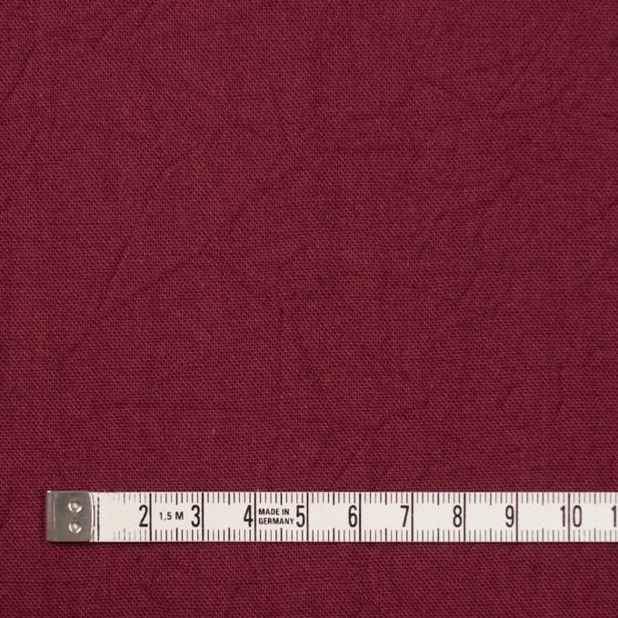 コットン&リネン×無地(ガーネット)×キャンバスワッシャー_全15色 イメージ4