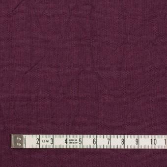 コットン&リネン×無地(プラムパープル)×キャンバスワッシャー_全15色 サムネイル4