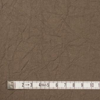 コットン&リネン×無地(カーキベージュ)×キャンバスワッシャー_全15色 サムネイル4