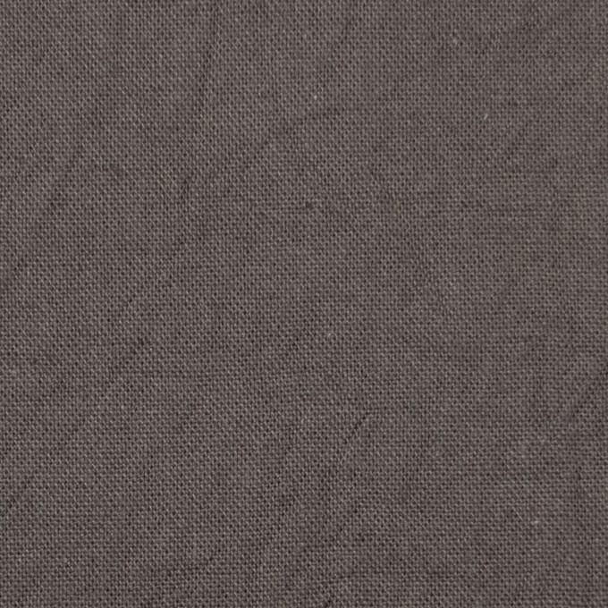 コットン&リネン×無地(スチールグレー)×キャンバスワッシャー_全15色 イメージ1