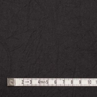 コットン&リネン×無地(チャコールグレー)×キャンバスワッシャー_全15色 サムネイル4