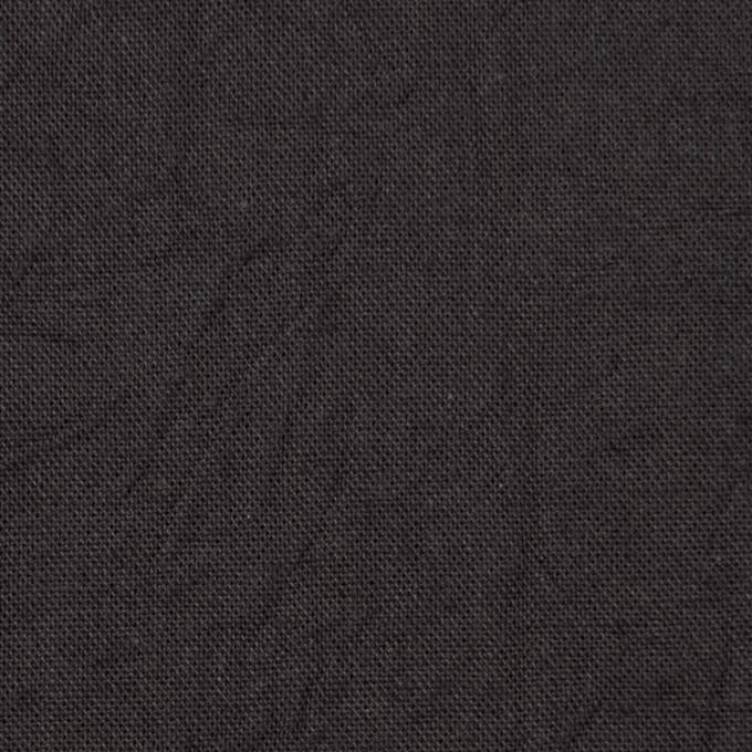 コットン&リネン×無地(チャコールグレー)×キャンバスワッシャー_全15色 イメージ1