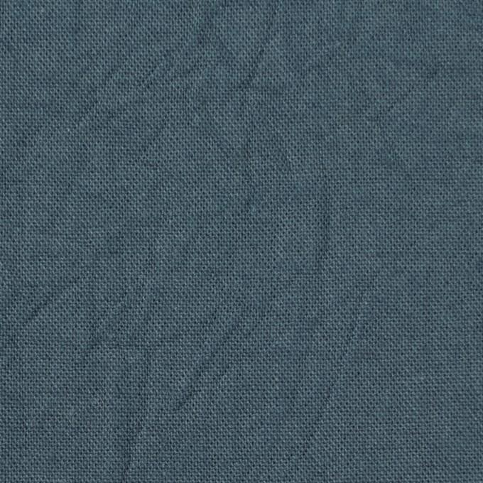 コットン&リネン×無地(スレートグレー)×キャンバスワッシャー_全15色 イメージ1