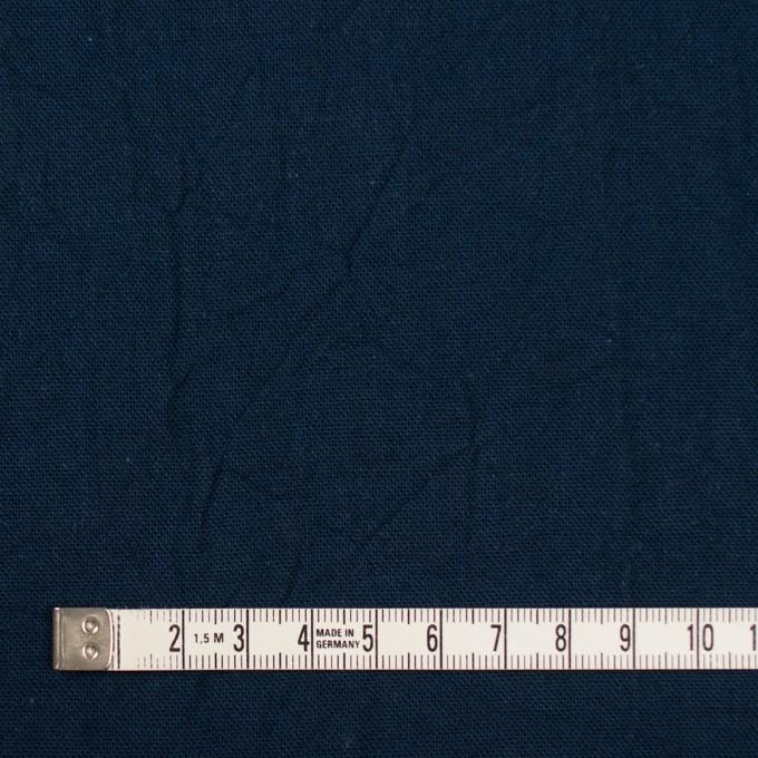 コットン&リネン×無地(ネイビー)×キャンバスワッシャー_全15色 イメージ4