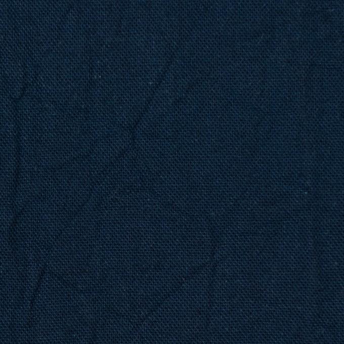 コットン&リネン×無地(ネイビー)×キャンバスワッシャー_全15色 イメージ1