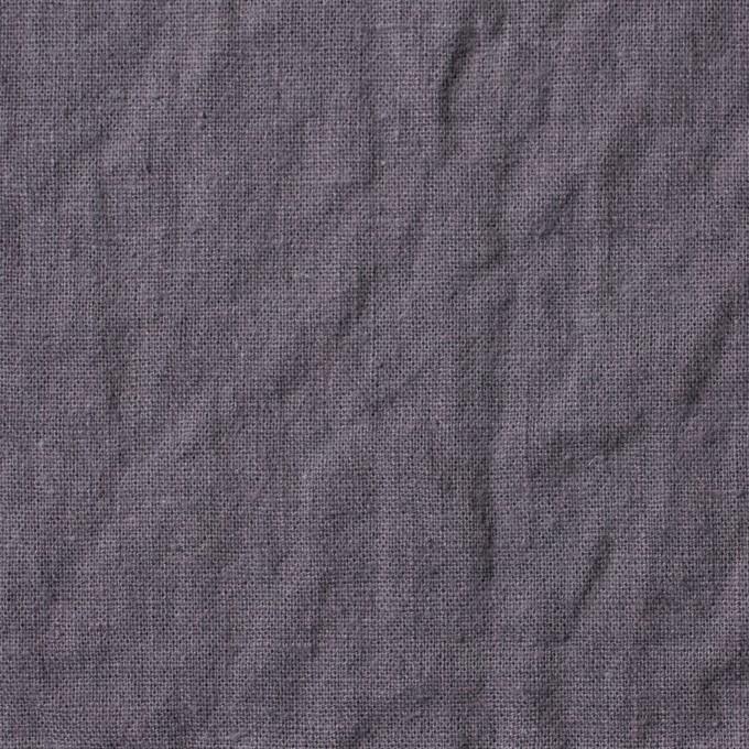 リネン&コットン×無地(グレープグレー)×シーチング_全36色 イメージ1