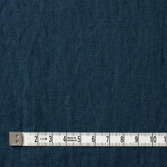 リネン&コットン×無地(アイアンネイビー)×シーチング_全36色 サムネイル4
