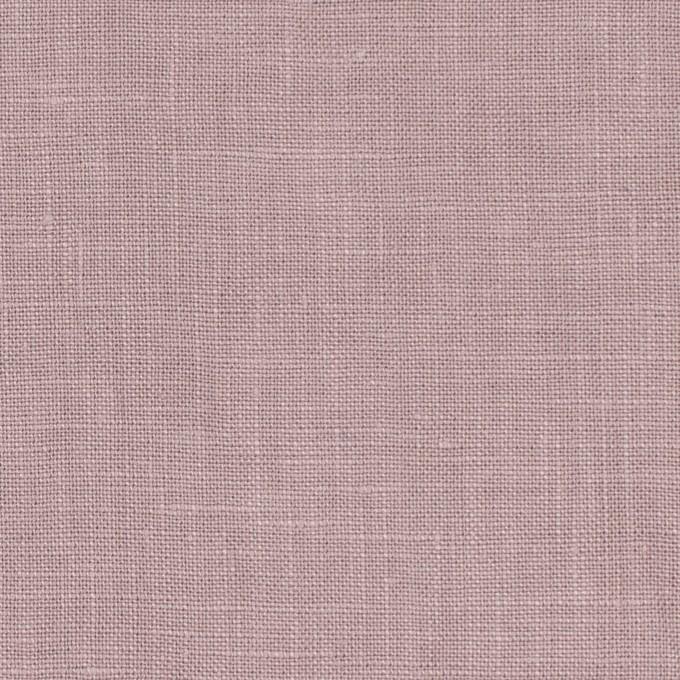 リネン×無地(グレイッシュピンク)×薄キャンバス_全25色 イメージ1