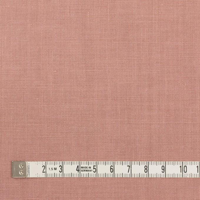 リネン×無地(ウインターローズ)×薄キャンバス_全20色 イメージ4