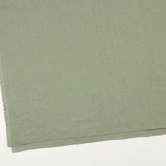 リネン×無地(セージグリーン)×薄キャンバス_全25色 サムネイル2