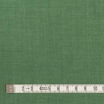 リネン×無地(フォレストグリーン)×薄キャンバス_全25色 サムネイル4