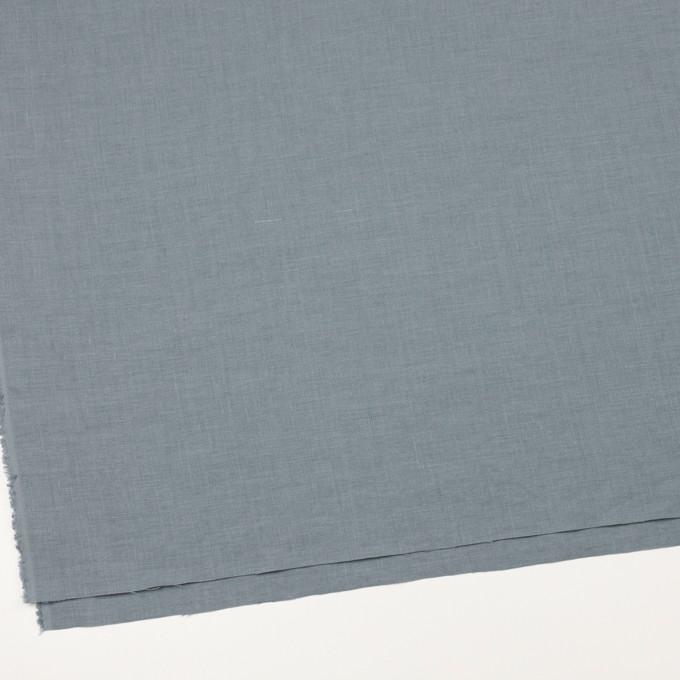 リネン×無地(ブルーグレー)×薄キャンバス_全25色 イメージ2