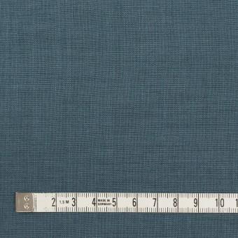 リネン×無地(ウインターブルー)×薄キャンバス_全25色 サムネイル4