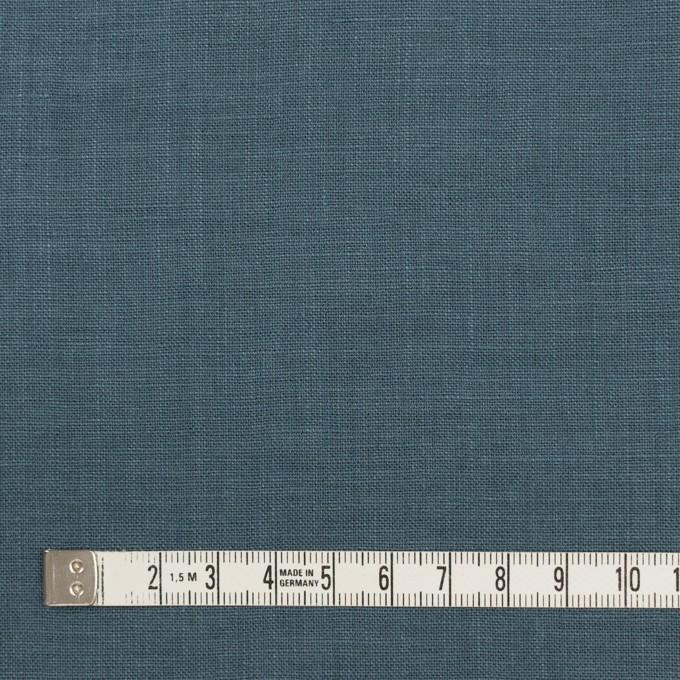 リネン×無地(ウインターブルー)×薄キャンバス_全25色 イメージ4